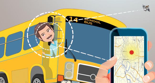 How School Bus Trackers Help Keep Track of School Bus Drivers