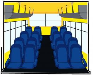 trackschoolbus interior