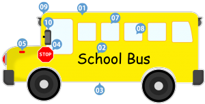 trackschoolbus numbers