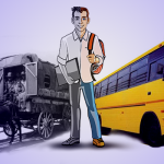 School Bus – From Simple Wagons to GPS Tracking