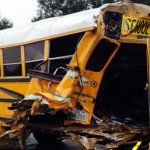 Kids hospitalised after School Bus Crash in Manchester