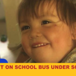 Child Left in School Bus under Scorching Heat