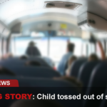 Child Tossed Off School Bus Before Driver Pulls Away