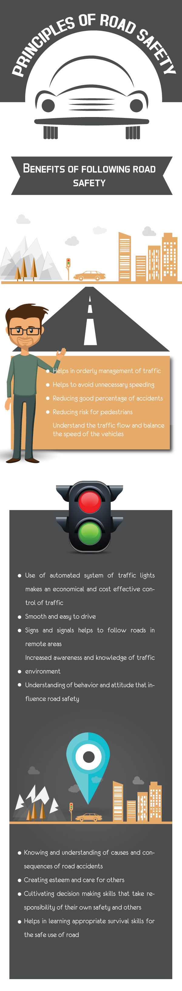 Principles of Road Safety [Infographics]