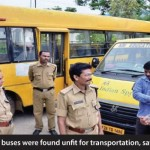 80% of school buses were found unfit for transportation, says RTO Bhopal