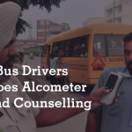 School Bus Drivers Undergoes Alcometer Tests and Counselling