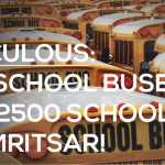 Ridiculous: 700 School Buses for 2500 Schools in Amritsar!