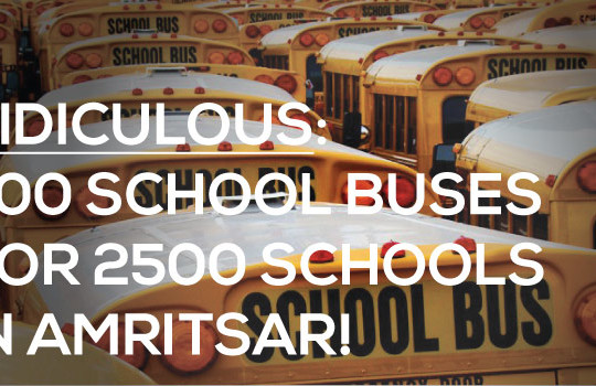 <img src='http://www.trackschoolbus.com/wp-content/uploads/2016/09/27-09-2016-Ridiculous_-700-School-Buses-for-2500-Schools-in-Amristar1-540x350.jpg' title='Ridiculous: 700 School Buses for 2500 Schools in Amritsar!' alt='' />