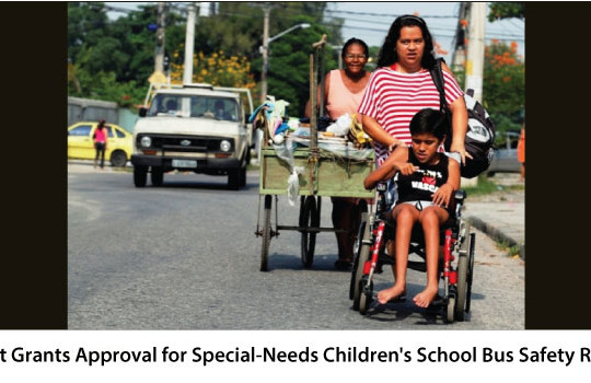 <img src='http://www.trackschoolbus.com/wp-content/uploads/2016/09/29-09-2016-Govt-Grants-Approval-for-Special-Needs-Childrens-School-Bus-Safety-Rules-540x350.jpg' title='Govt Grants Approval for Special-Needs Children's School Bus Safety Rules' alt='' />