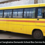 Annadata Shetkari Sanghatna Demands School Bus Service for Rural Students