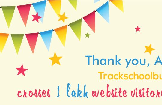 <img src='http://www.trackschoolbus.com/wp-content/uploads/2016/10/15-10-2016-Trackschoolbus-crosses-1-lakh-users-540x350.png' title='15-10-2016-trackschoolbus-crosses-1-lakh-users' alt='Trackschoolbus-crosses-1-lakh-users.' />