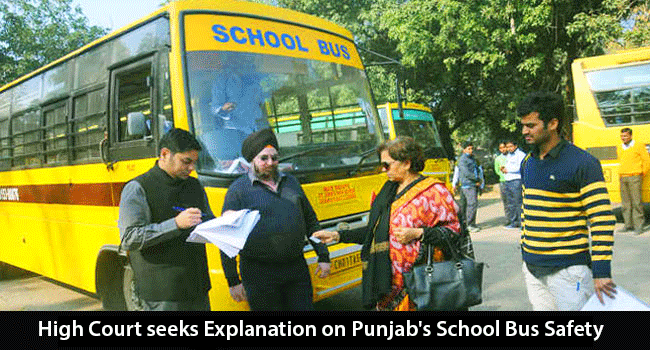 High-Court-seeked-Explanation-on-Punjabs-School-Bus-Safety