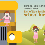 School Bus Safety Rules for Kindergarten Students [Infographic Part 2]