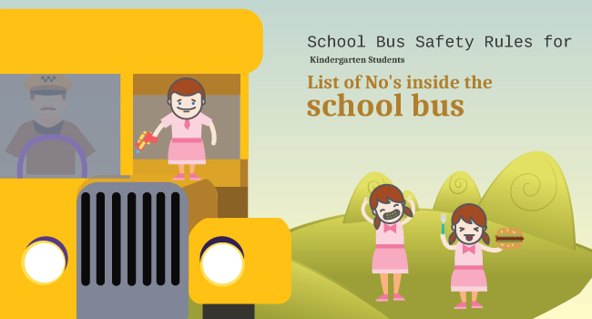 School Bus Safety for Kindergarten Students- Part II