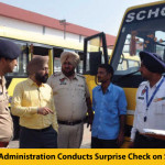 Dera Bassi Administration Conducts Surprise Check on School Buses
