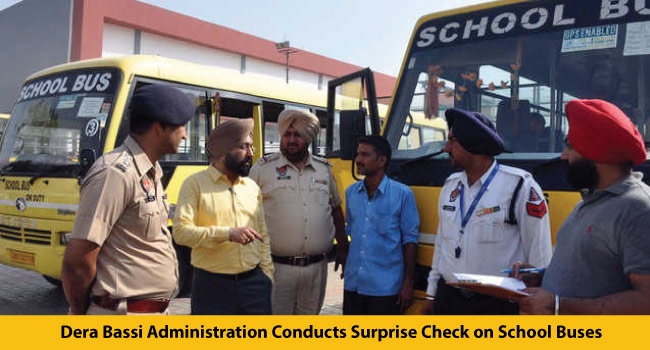 29-11-2016-Dera-Bassi-Administration-Conducts-Surprise-Check-on-School-Buses