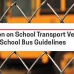 Restriction on School Transport Vehicles Violating School Bus Guidelines