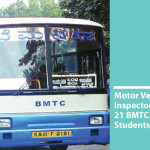 Motor Vehicle Inspectors Confiscates 21 BMTC Buses Carrying Students