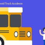How to Avoid Truck Accidents – A Visual Guide on Truck Safety [Infographics]