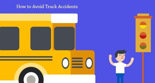How to Avoid Truck Accidents – A Visual Guide on Truck Safety