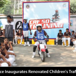 City Police Inaugurates Renovated Children's Traffic Park