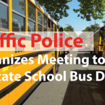 Traffic Police Organizes Meeting to Educate School Bus Drivers