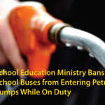 School Education Ministry Bans School Buses from Entering Petrol Pumps While On Duty
