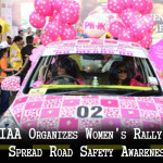 WIAA Organizes Women's Rally to Spread Road Safety Awareness