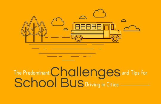 <img src='https://www.trackschoolbus.com/wp-content/uploads/2017/12/7-12-2017-The-Predominant-Challenges-and-Tips-for-School-Bus-Driving-in-Cities-540x350.jpg' title='Predominant Challenges and Tips for School Bus Driving in Cities' alt='' />