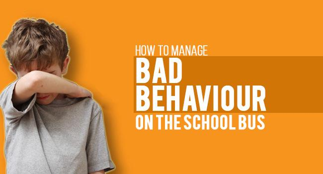 How to Manage Bad Behaviour on the School Bus