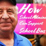 school administrators support school bus drivers