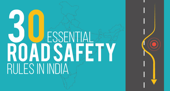 30 essential road safety rules in India featured image