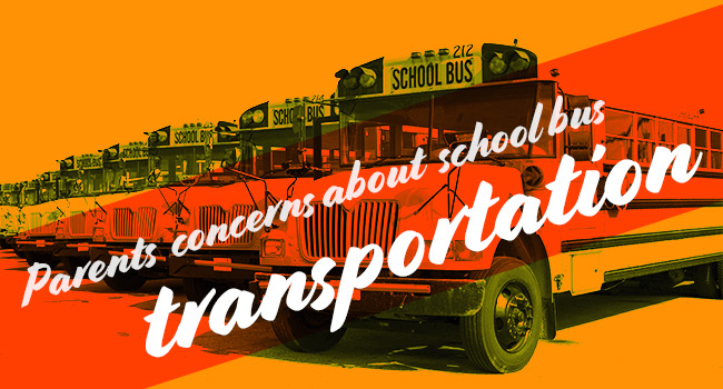 Parent's Concerns About School Bus Transportation