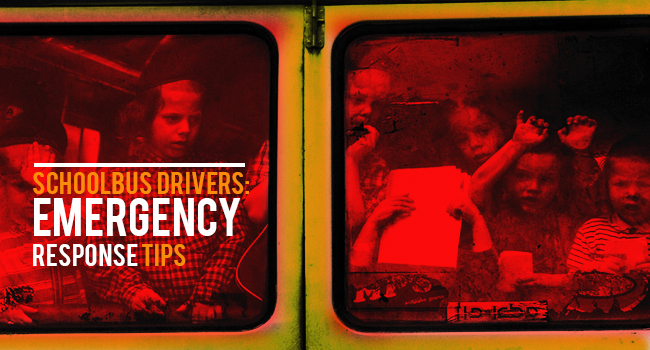 10 Emergency Response Tips for School Bus Drivers