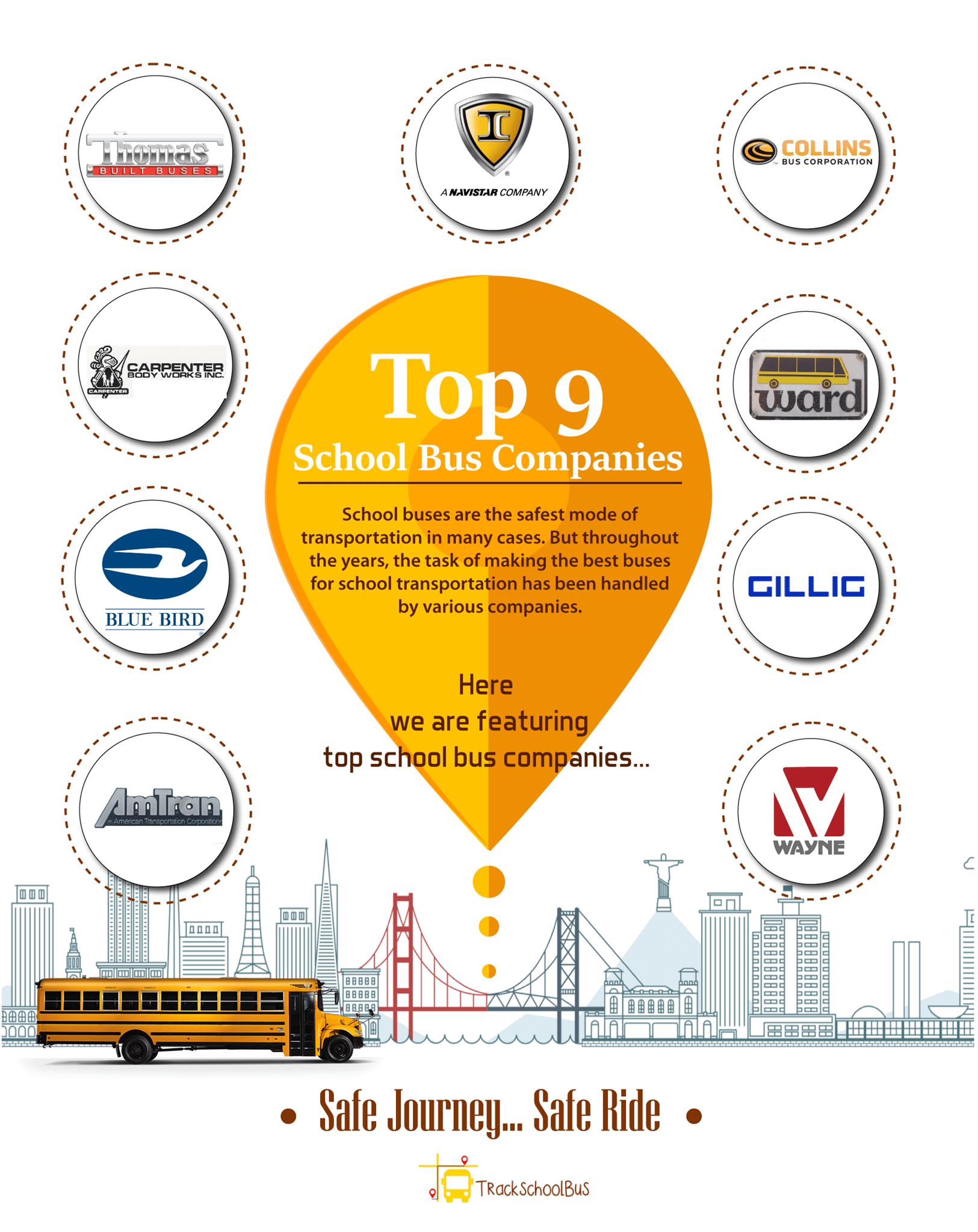 Top 9 School Bus Companies_infographic