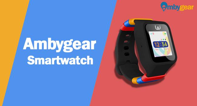 Ambygear smartwatch product image