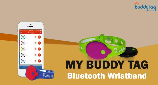 My Buddy Tag Bluetooth Wristband product image