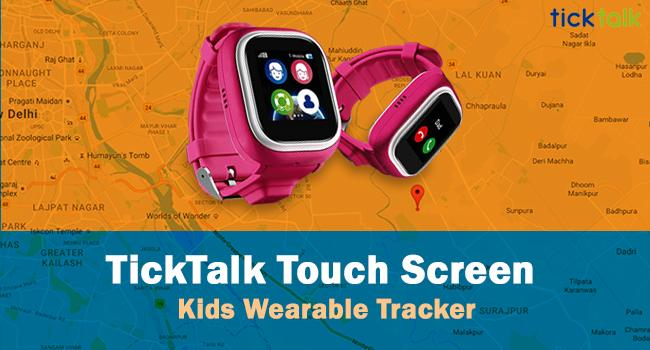 TickTalk Touch Screen Kids Wearable Tracker product image