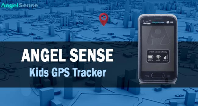 angelsense kids gps tracker product image