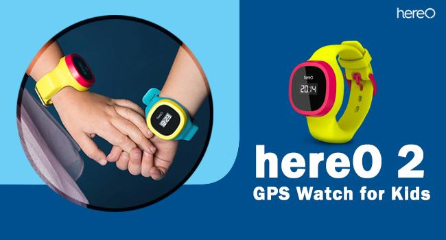 hereO 2 gps watch for kids product image
