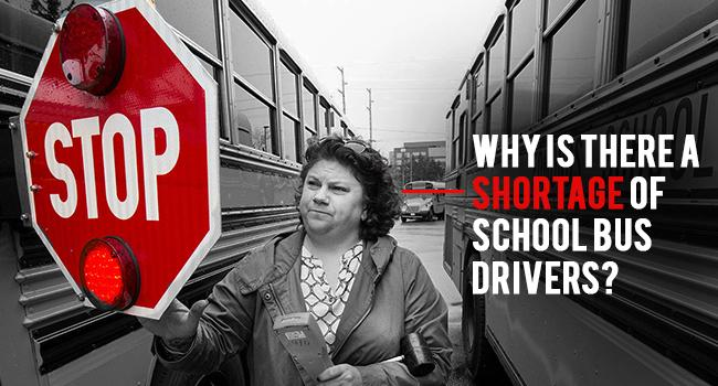 why is there a shortage of school bus drivers featured image