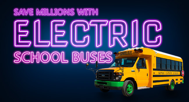 How Electric School Buses Can Save Millions for School Districts