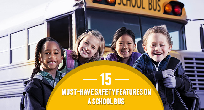 15 Must-have Safety Features On A School Bus