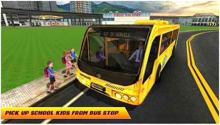 City High School Bus 2018: Driving Simulator PRO