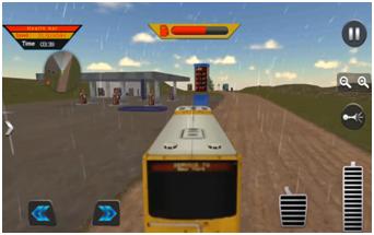 Off Road School Bus : Uphill Driving Simulator