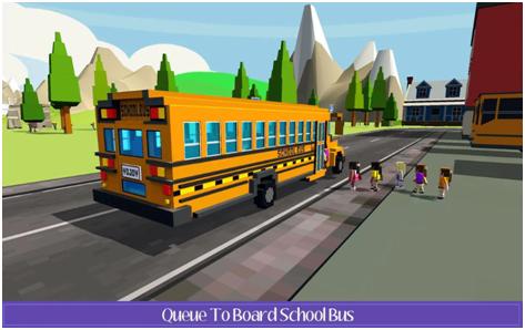 School Bus Farm Driving