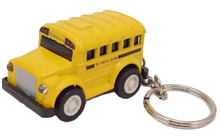 Gift ideas for school bus drivers - key chain