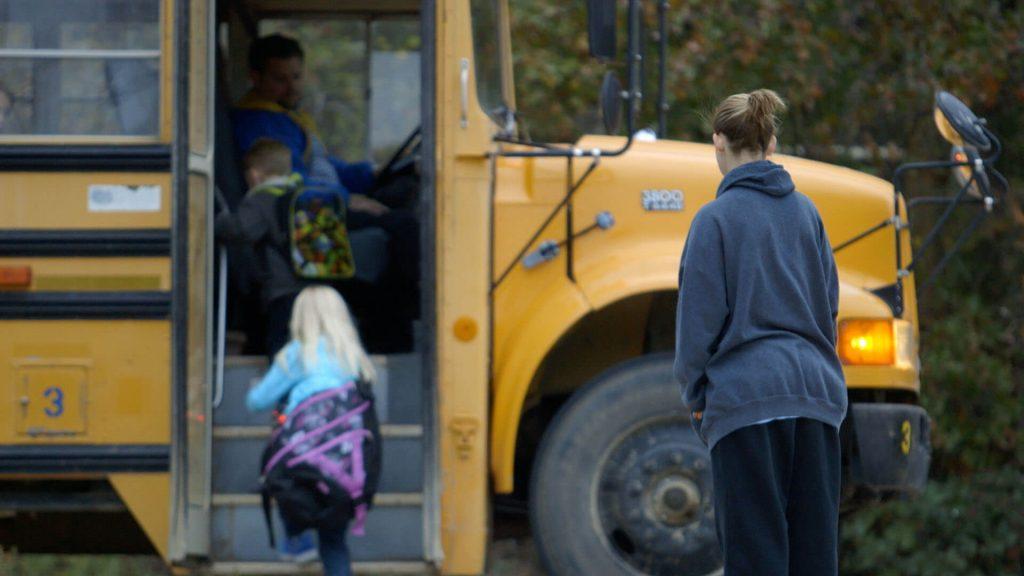 sex offenders on school bus