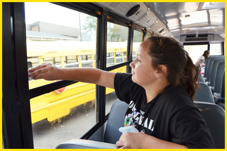 How to Clean, Sanitize and Disinfect School Bus (Tips for Drivers)